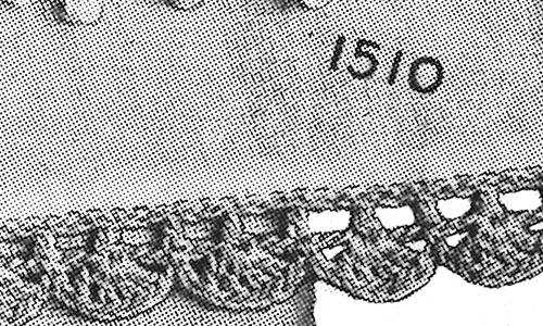 Crocheted Edging Pattern #1510