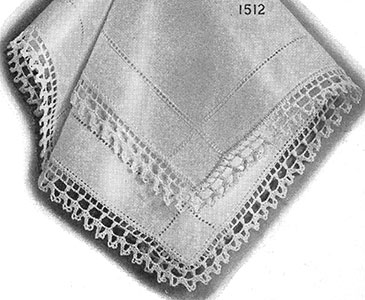 Crocheted Edging Pattern #1512
