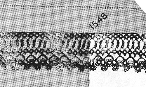Marigold Tatting Edging Pattern #1548