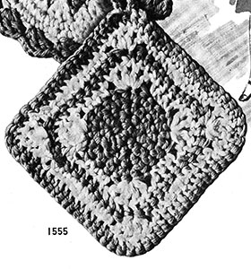 Pot Holder Pattern #1555