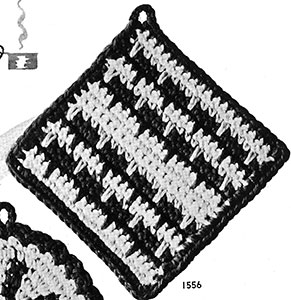 Pot Holder Pattern #1556