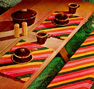 Picnic Table Set Pattern