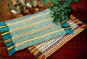 Woven Dish Cloth Mats Pattern