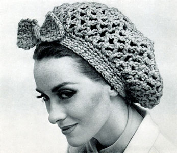 Fish Net Snood Pattern