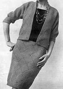 Motif Suit Pattern