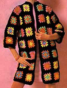 Afghan Coat Pattern