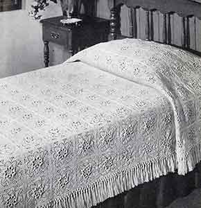 Puritan Bedspread Pattern