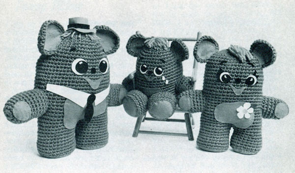 Three Little Bears Patterns
