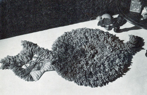 Meow Meow Rug Pattern