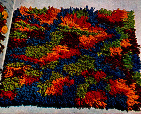 Cut Loop Rug Pattern