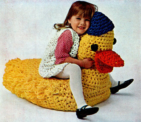 Toy Duck Pattern Crochet Patterns