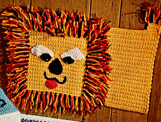Lion Rug or Wall Hanging Pattern