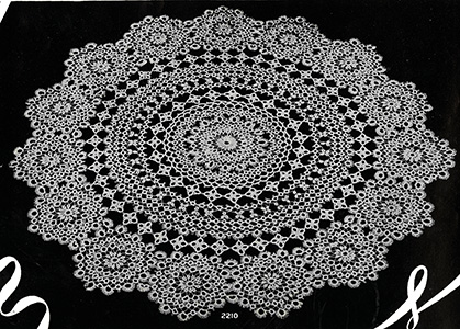 Tatted Doily Pattern #2210