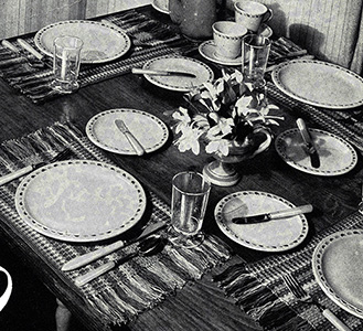Luncheon Set Pattern #2214