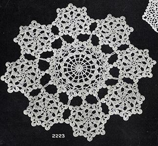 Clover Leaf Doily Pattern #2223