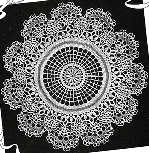 Wedding Cake Lace Doily Pattern #2229