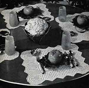 Placemats Pattern, No. 2808