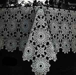 Tablecloth Pattern, No. 2809