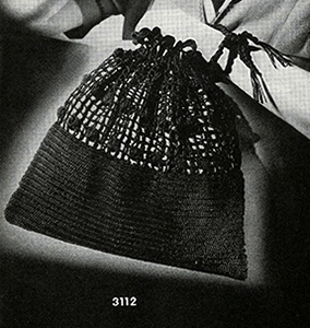 Drawstring Handbag Pattern #3112