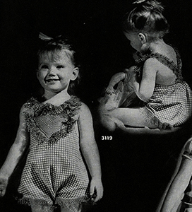 Sunsuit Pattern #3119