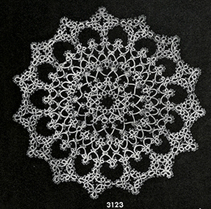 Tatted Doily Pattern #3123