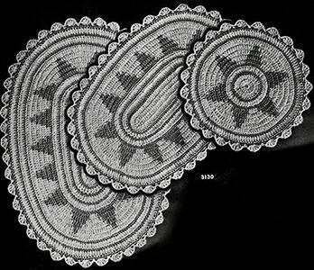 Hot Plate Mats Pattern #3130