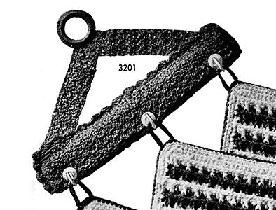 Potholder Hanger Pattern #3201
