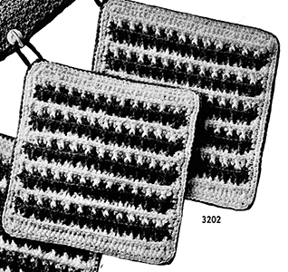 Potholder Pattern #3202