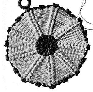 Potholder Pattern #3206
