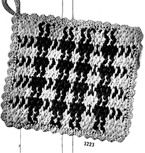 Potholder Pattern #3223