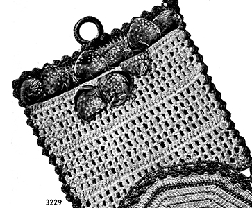 Potholder Pattern #3229