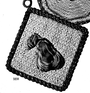 Potholder Pattern #3231