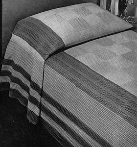 Manhattan Bedspread Pattern #3404