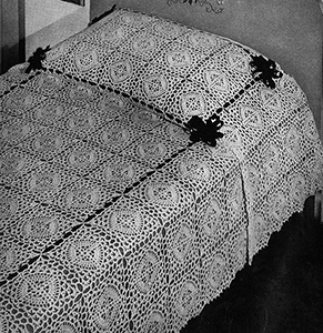 Hot Springs Bedspread Pattern #3405