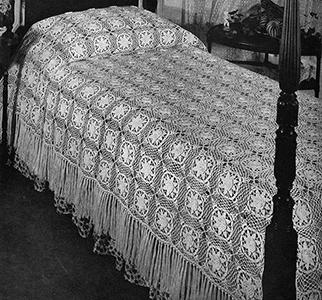Louisiana Bayou Bedspread Pattern #3406