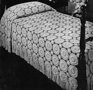 Peachtree Street Bedspread Pattern #3408