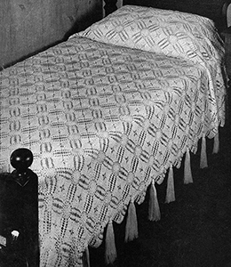 Connecticut Yankee Bedspread Pattern #3410