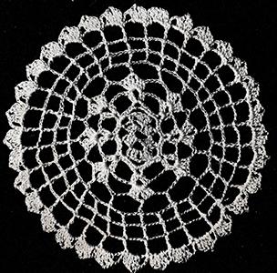 Oblong Center Medallion Pattern