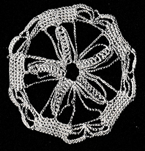 Five-Sided Wheel Medallion Pattern