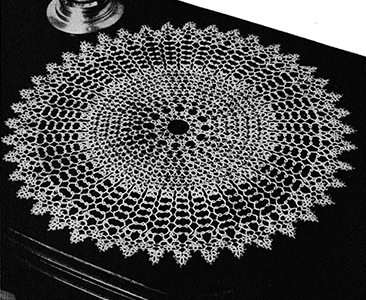 Tatted Doily Pattern #4502