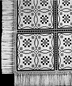 Woven Effect Coverlet Pattern