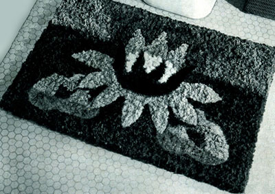 Water Lily Rug Pattern