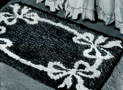 Bow Knot Rug Pattern