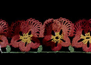Pansy Edging Pattern