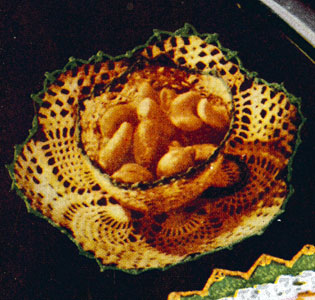 Nut Cup and Saucer Pattern