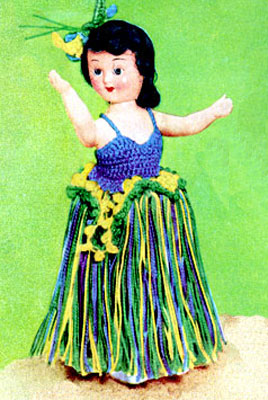 South Sea Dancer Doll