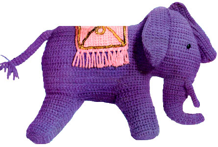 Elephant Toy Pattern