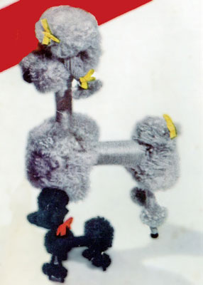 French Poodles Toy