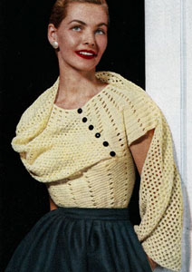 Stole Blouse Pattern