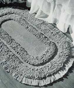 The Oval Loop Stitch Rug Pattern